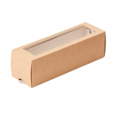 Коробка для макарони 6 шт, 180*55*55 мм