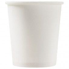 Бумажный стакан 100 мл (110 мл), белый, Э (Уп. 50 шт)