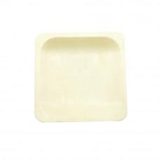 Тарелка деревянная квадратная 140*140 мм (Уп. 50 шт)