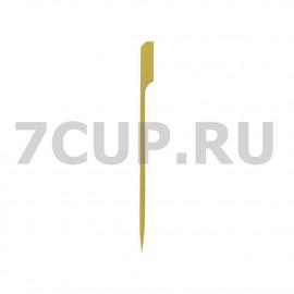 """Деревянные пики """"Гольф"""" 120 мм (Уп.100 шт)"""
