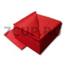 Салфетки красные 24*24 см (Уп. 400 шт)