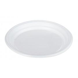 Тарелка пластиковая  d=170 мм (Уп. 100 шт)
