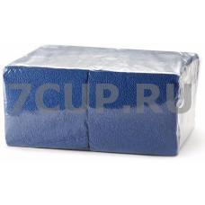 Салфетки синие 24*24 см (400 шт. в упаковке)