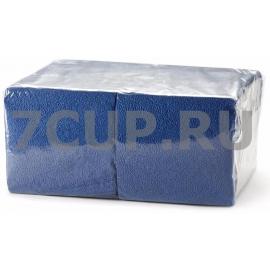 Салфетки синие 24*24 см (Уп. 400 шт)