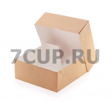 Коробка для пирожных ECO CAKE 6000, 255*255*105 мм