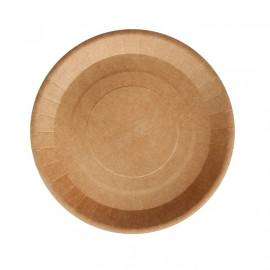 Бумажная тарелка ECO PLATE 180мм, крафт