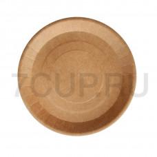 Тарелка бумажная ECO PLATE 180 мм, крафт