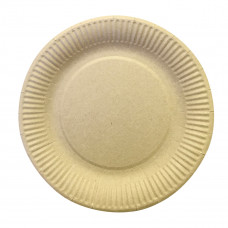 Тарелка бумажная  210 мм, крафт
