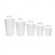 Бумажный стакан 100 мл (110 мл), Э (Уп. 50 шт)
