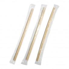 Палочки для суши деревянные 230 мм в индивидуальной