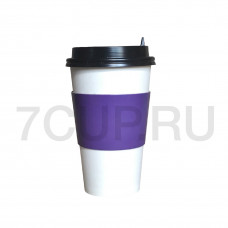 Капхолдер фиолетовый