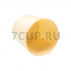 Стаканчик деревянный одноразовый 45 мл 45x45x45 мм по 50 шт/уп (40 уп/кор)