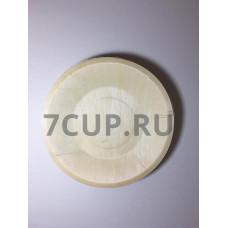 Деревянная круглая тарелка 190*15 мм (Уп. 10 шт)