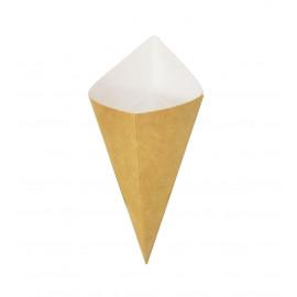 Рожок из бумаги для снеков и орешков