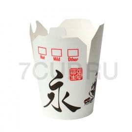 "Коробка для лапши WOK ""China"" 750 мл с иероглифом"