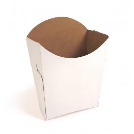 Коробка для картофеля фри самосборная