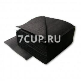 Салфетки черные 24*24 см (Уп. 400 шт)