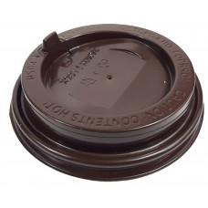 Крышка глянцевая коричневая 80 мм. (ППП)