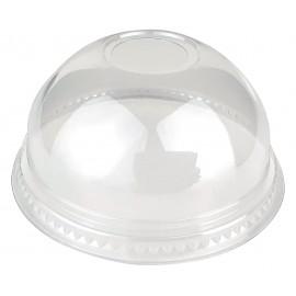 Крышка КУПОЛ для стакана d=95 мм, C ОТВЕРСТИЕМ (Уп. 50 шт)
