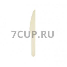 Нож деревянный 160 мм  (Уп. 100 шт)