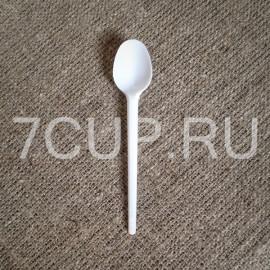 Ложка чайная пластиковая 125 мм (Уп. 100 шт)