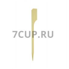 """Деревянная пика """"Гольф"""" 90 мм (Уп.100 шт)"""