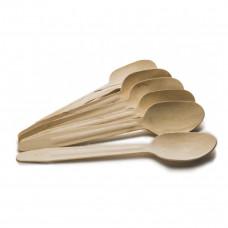 Ложка деревянная 160 мм (Уп. 100 шт)