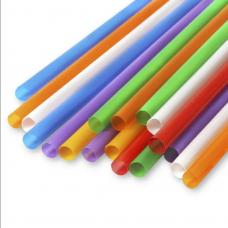 Трубочки без изгиба (соломинки) цветные (Уп. 250 шт)