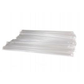 Трубочки (соломинки) прямые прозрачные в инд. упаковке (Уп. 500 шт)