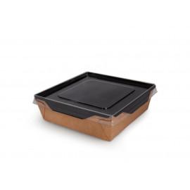 Контейнер для салата с крышкой 900 мл ECO OPSALAD 900 Black