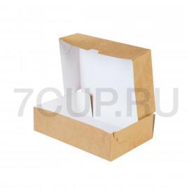 Коробка для тортов, десертов ЕСО CAKE 1900 мл, 230*140*60 мм