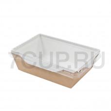 Контейнер для салата с прозрачной крышкой 400 мл ECO OPSALAD 400