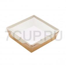Контейнер для салата с прозрачной крышкой 900 мл (ECO OPSALAD 900)