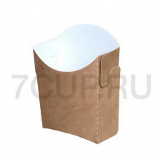 Коробка для картофеля фри самосборная (Уп. 50 шт)