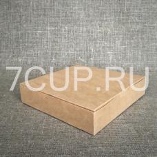 Коробка для пирожных  230*230*50 (Уп. 50 шт)