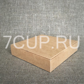 Коробка для пирожных  230*230*50 мм