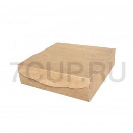 Коробка для пончиков на 4 шт,  210*210*60 мм
