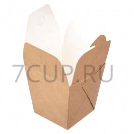 Коробка для лапши склеенная ECO NOODLES 560 мл